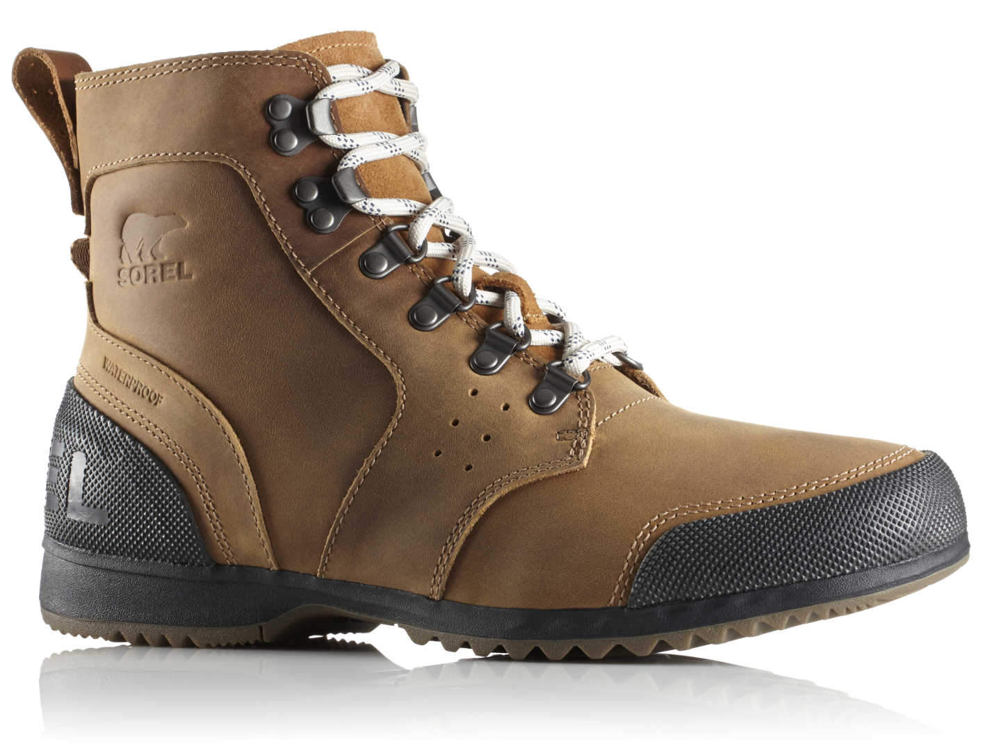 2e5788cc6d9b55 Buty męskie Sorel Ankeny Mid Hiker-Elk Black - Sklep internetowy ...