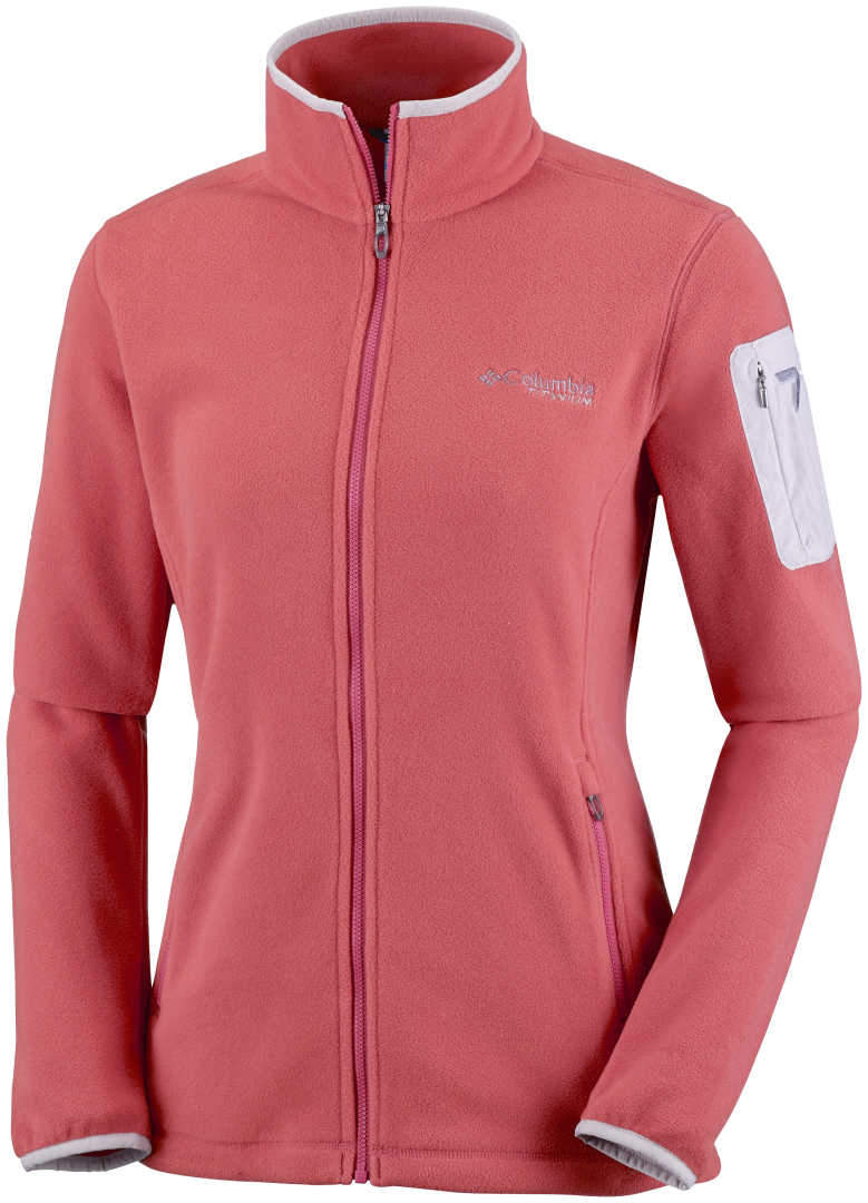 3cf84d86bbd2 Women s Columbia Titan Pass 2.0 Fleece Jacket-Coral - Sklep internetowy  Polstor.pl