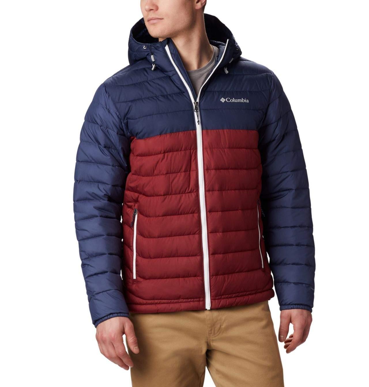 Kurtka Columbia Powder Lite Hooded Jacket Red Jasper