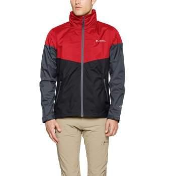 najnowsza kolekcja spotykać się kupować Kurtka męska Columbia INNER LIMITS Jacket-Black Mountain Red Graphite