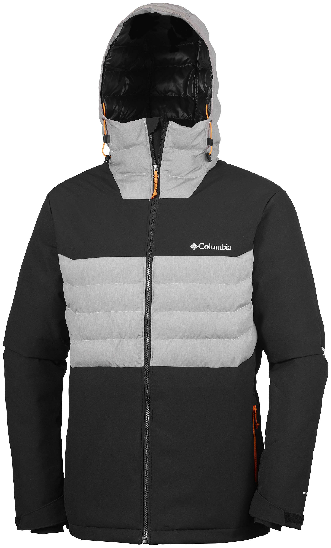 3c579679c19e4 Kurtka męska Columbia White Horizon Hybrid Jacket-Black/Grey Heather ...