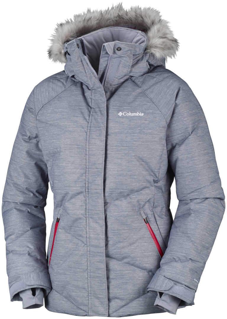 44a7b99c68089 Kurtka narciarska damska Columbia LAY D DOWN Jacket-Astral Twill Print