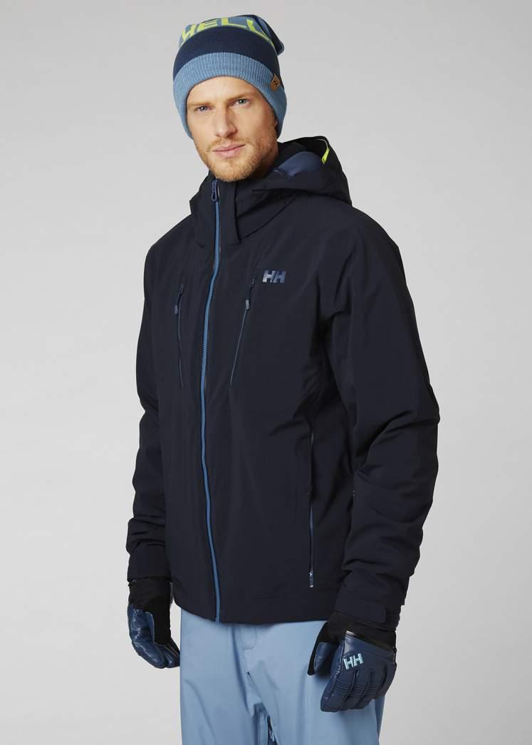 Kurtka narciarska Helly Hansen ALPHA 3.0 Jacket Navy Sklep