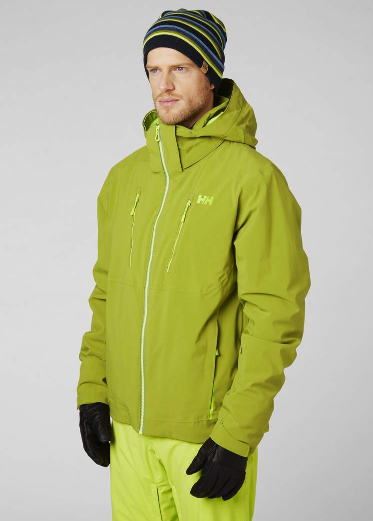 Kurtka narciarska Helly Hansen ALPHA 3.0 Jacket Wood Green