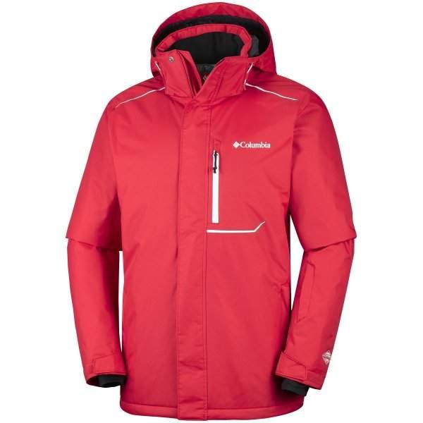 71157ae3 Kurtka narciarska męska COLUMBIA RIDE ON Jacket-Red Spark - Sklep ...