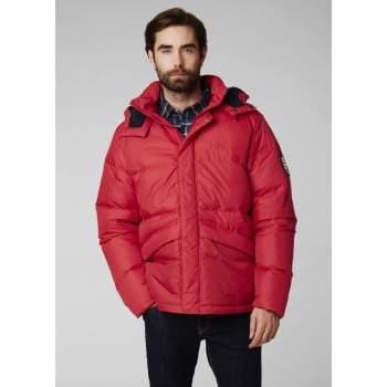 100% autentyczności gorący produkt przytulnie świeże Kurtka puchowa Helly Hansen 1987 DOWN Jacket-Flag Red