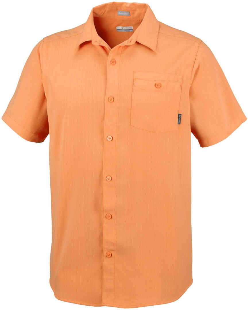 Columbia Mens Mossy Trail Short Sleeve Shirt