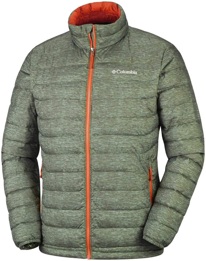 Men s Columbia Omni Heat POWDER LITE Jacket-Peatmoss Heather - Sklep ... a2de8db6607cd