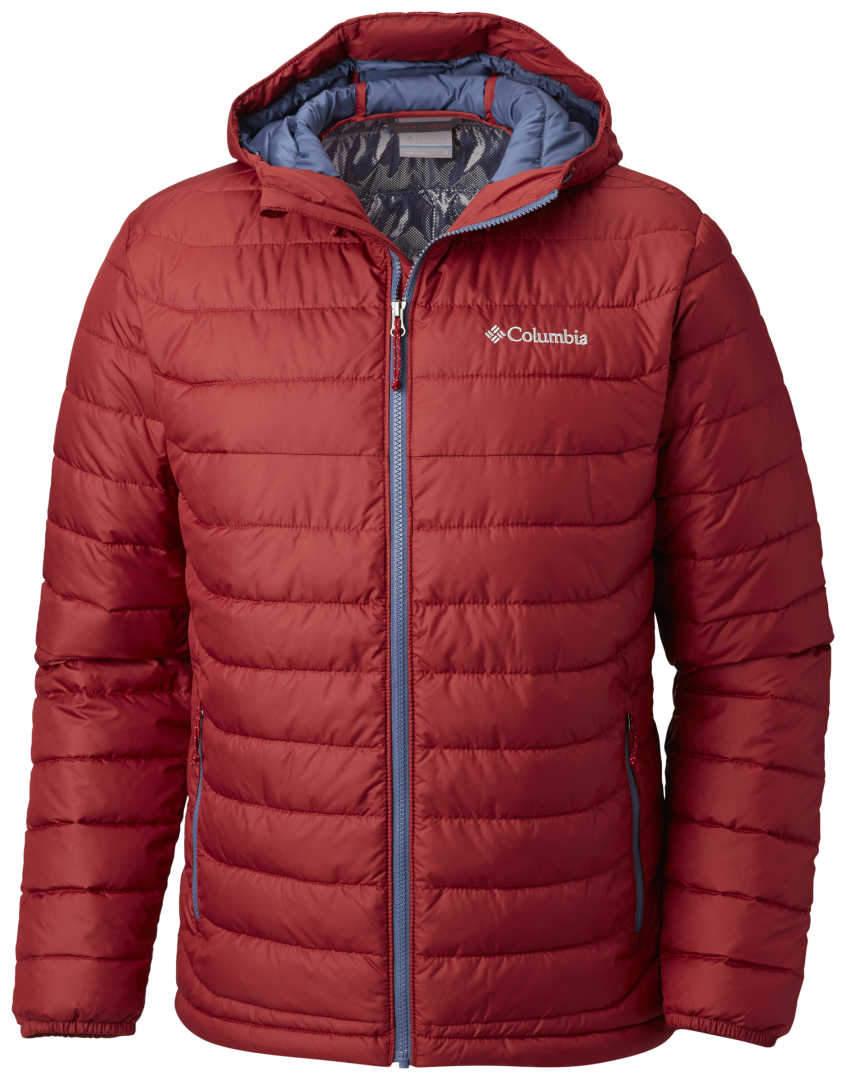 Men/'s COLUMBIA Water Resistant Fabric Hooded Jacket