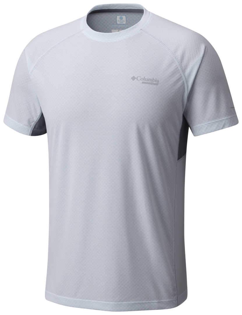 6d74282d Men's Columbia Titan Ultra Short Sleeve Shirt-White/Grey Ash - Sklep ...