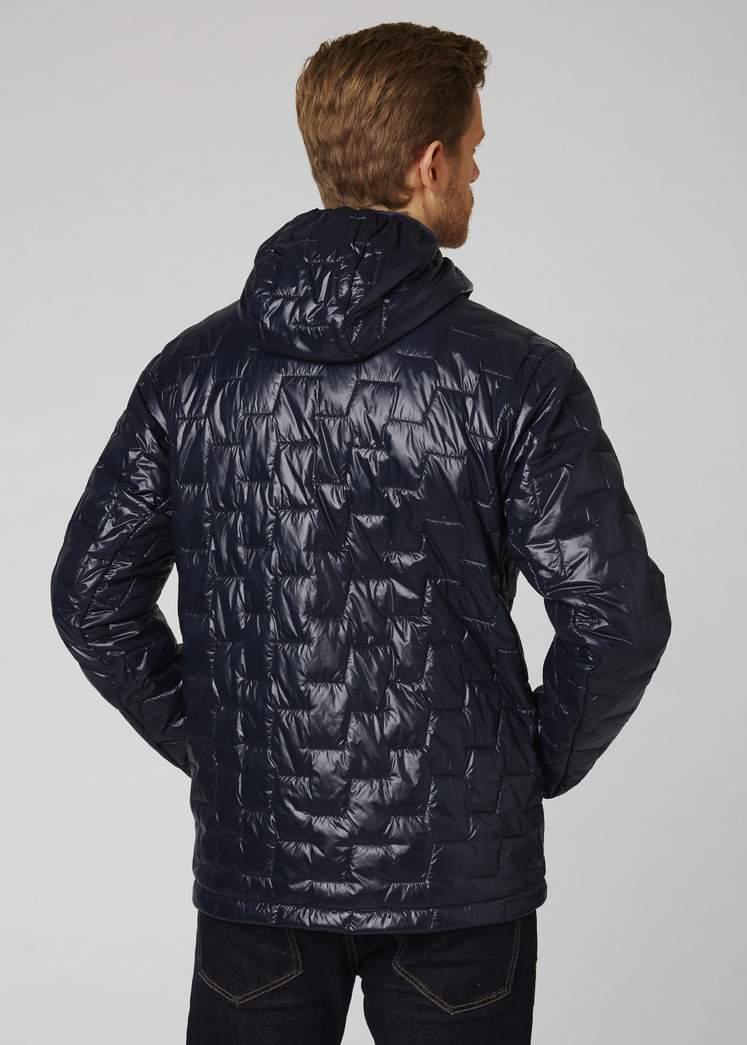 różne kolory dobry najbardziej popularny Men's Helly Hansen LIFALOFT HOODED INSULATOR Jacket-Navy ...