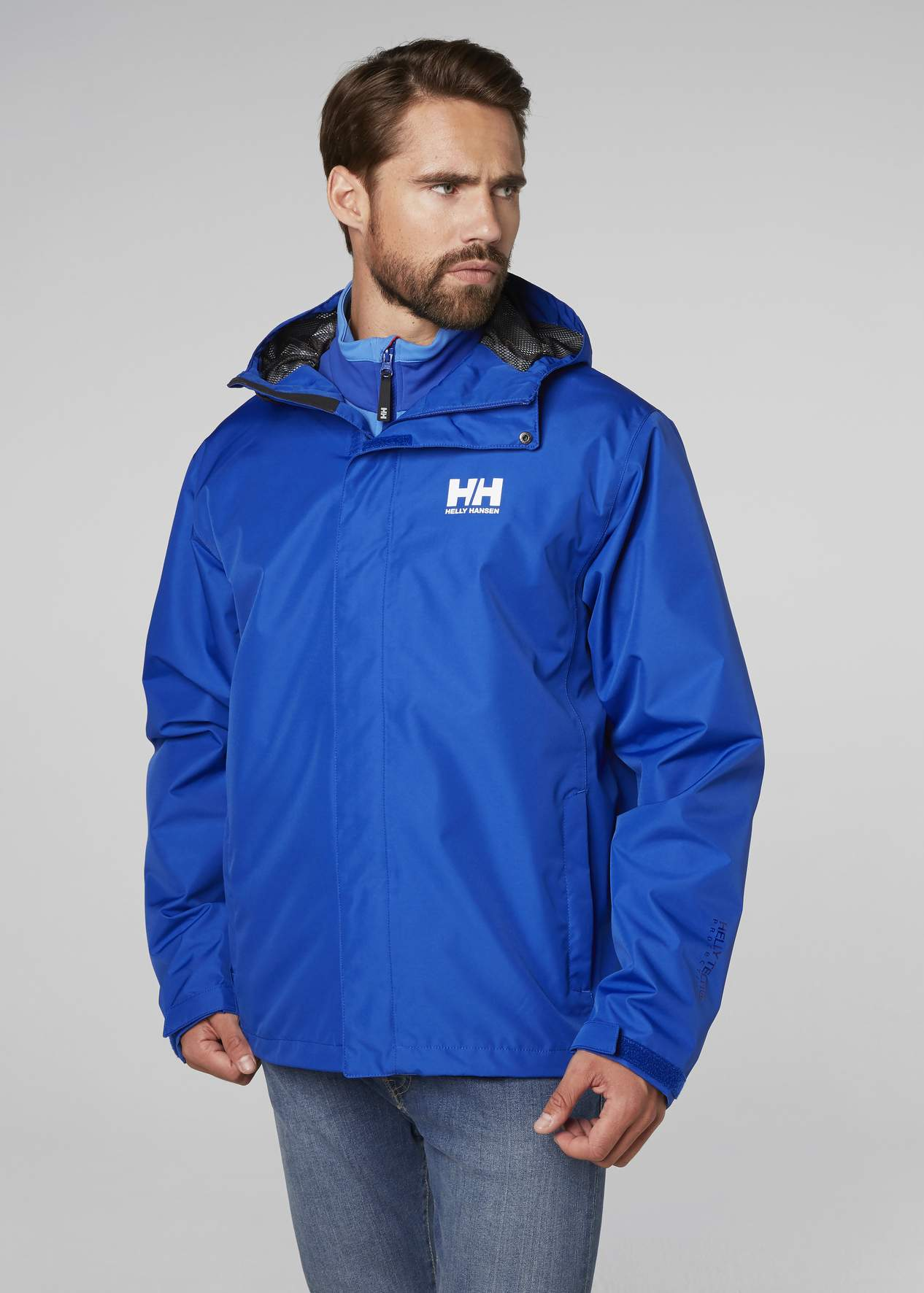 Men s Helly Hansen SEVEN J JACKET-Olympian Blue - Sklep internetowy ... 9211203a7