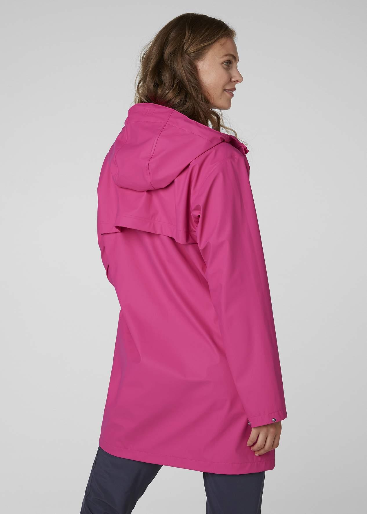 Płaszcz przeciwdeszczowy damski Helly Hansen MOSS RAIN COAT