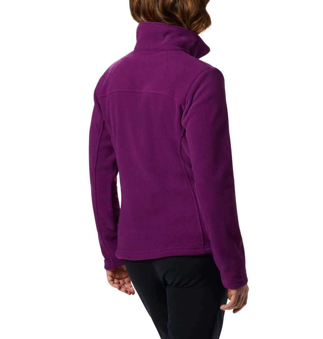 Columbia Women/'s Fast Trek II Full Zip Soft Fleece Jacket Purple