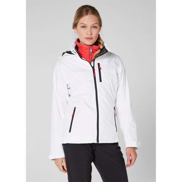 meet most desirable fashion cost charm Women's Helly Hansen CREW HOODED MIDLAYER JACKET-White ...