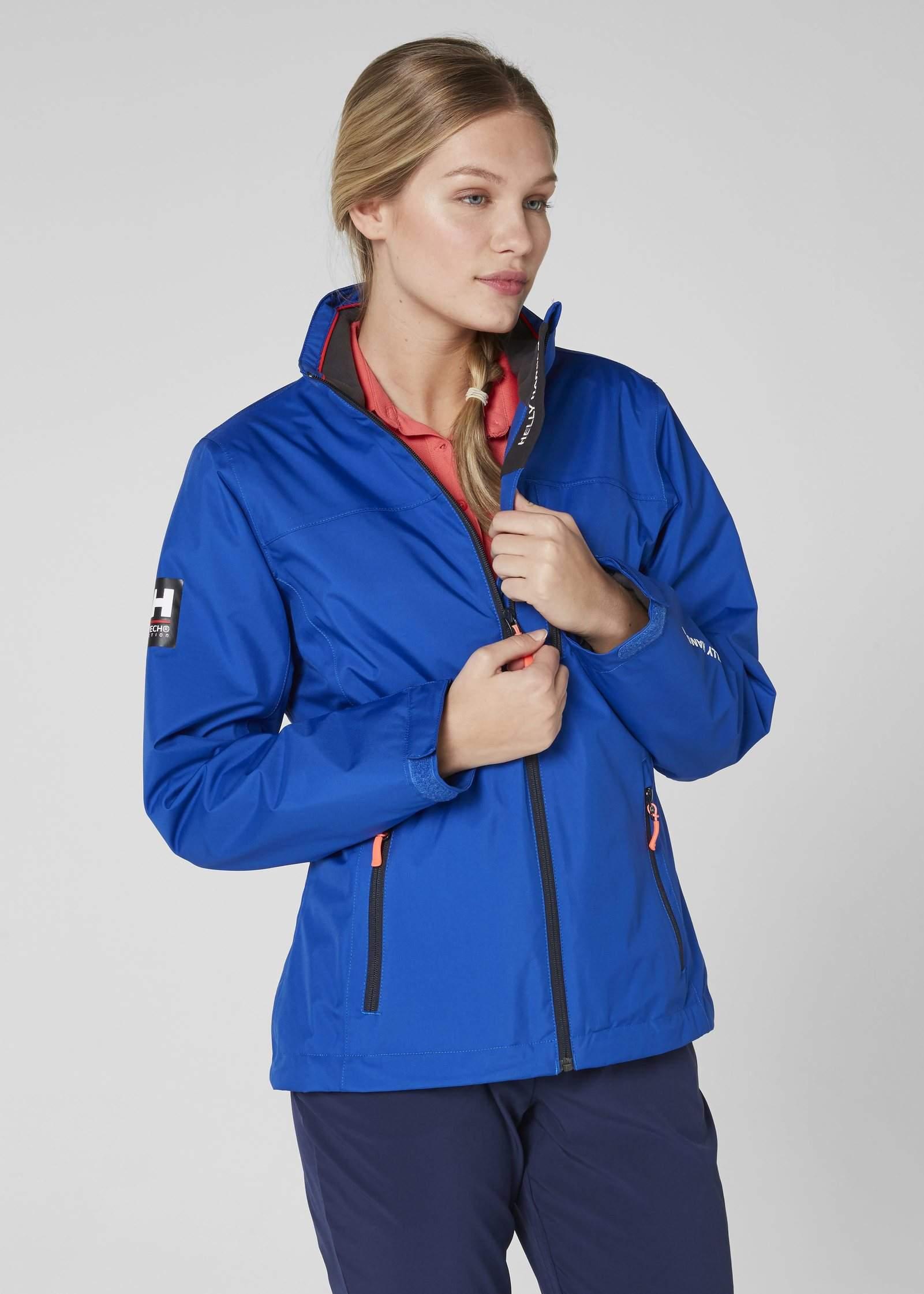 ff1eb9107a7 Women s Helly Hansen CREW MIDLAYER JACKET-Olympian Blue - Sklep ...