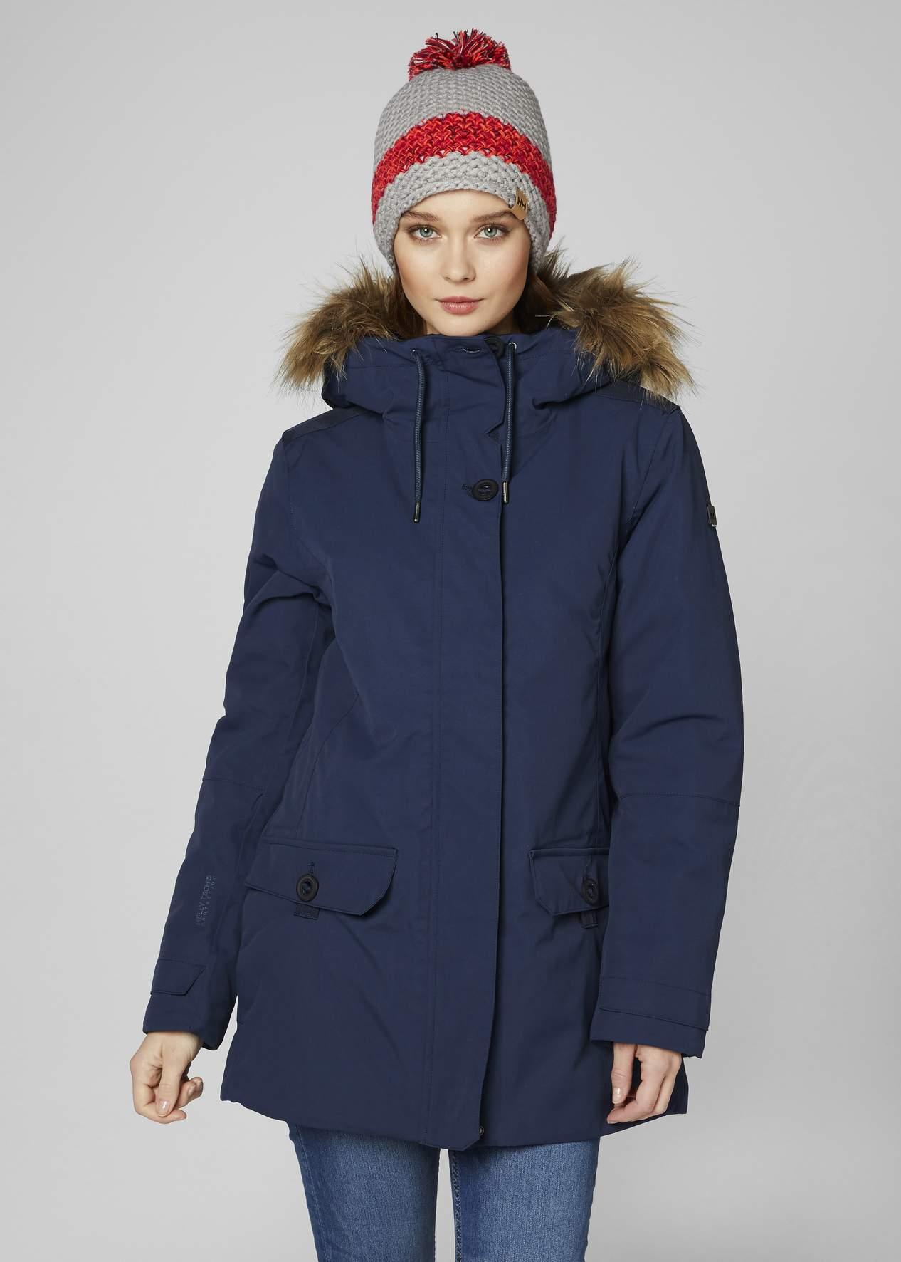 new items utterly stylish outlet on sale Women's Helly Hansen SVALBARD 2 Parka-Evening Blue - Sklep ...