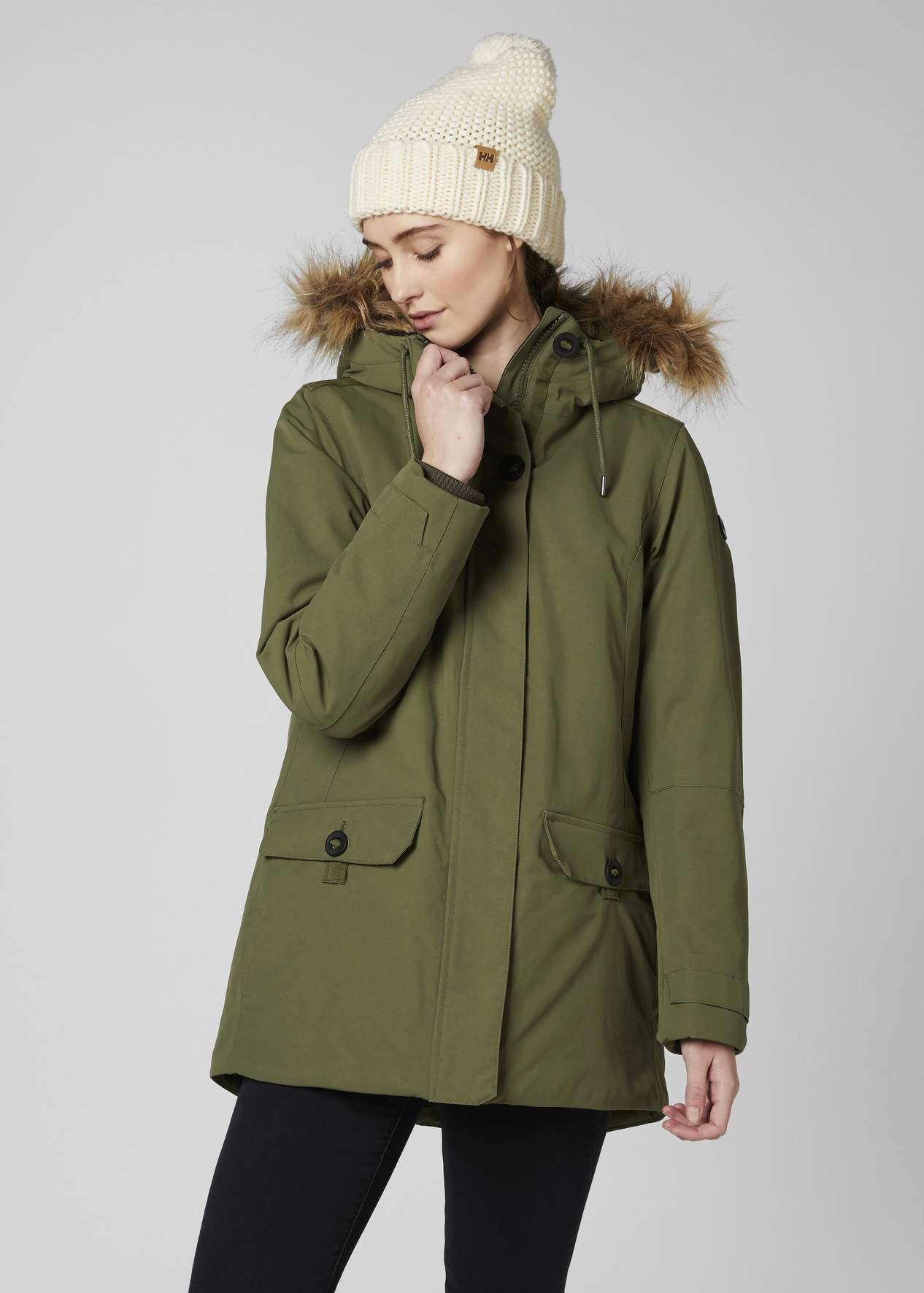 discount for sale quite nice hot-selling newest Women's Helly Hansen SVALBARD 2 Parka-Ivy Green - Sklep ...